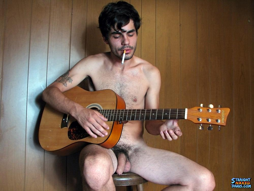 Straight-Naked-Thugs-Devin-Reynolds-Hairy-Twink-With-A-Huge-Uncut-Cock-Jerking-Off-Amateur-Gay-Porn-07 Bisexual Indie Guitarist Strokes His Huge Uncut Cock