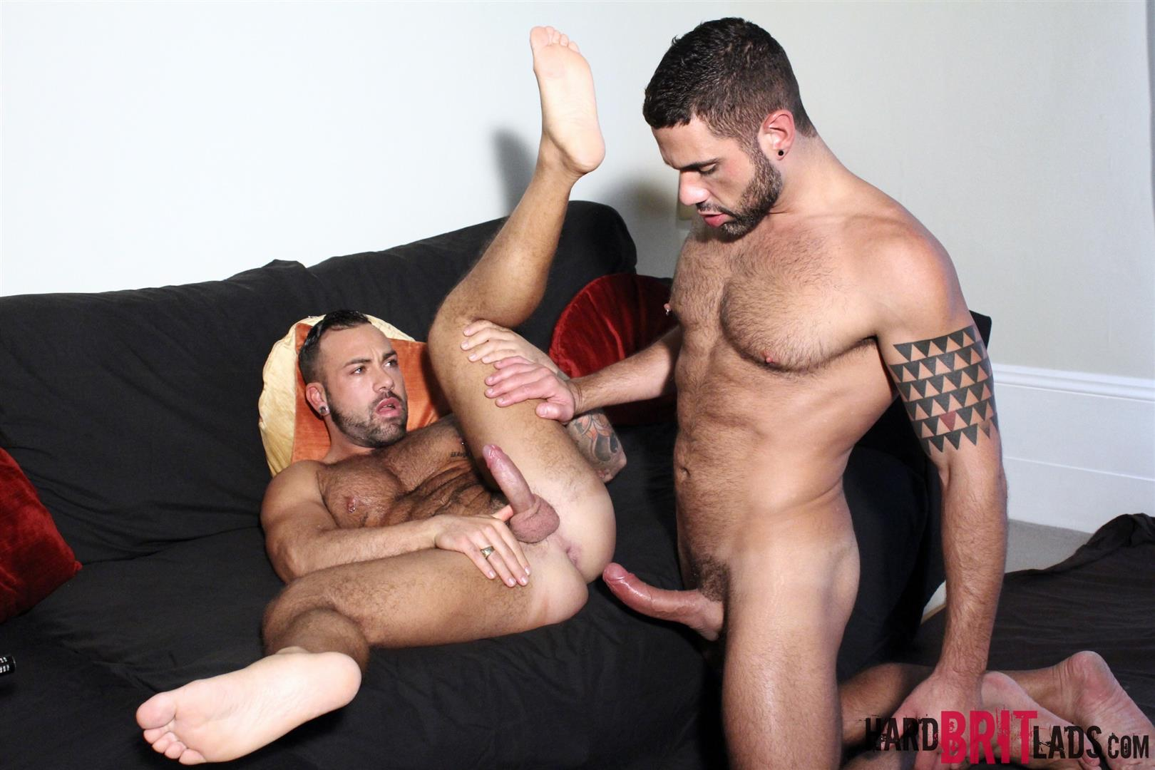 Hard Brit Lads Sergi Rodriguez and Letterio Amadeo Big Uncut Cock Fucking Amateur Gay Porn 13 Hairy British Muscle Hunks Fucking With Their Big Uncut Cocks