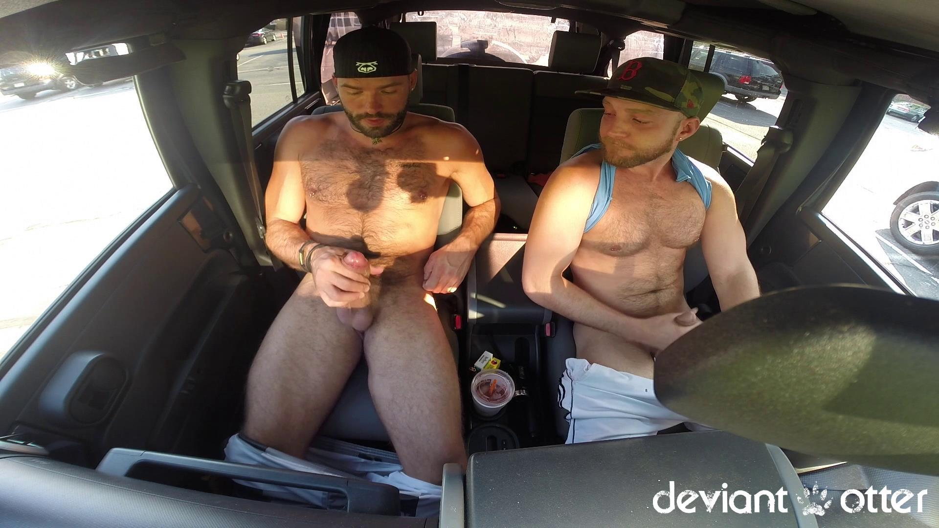 Deviant Otter Xavier Sucking Cock In Public Hairy Guys Amateur Gay Porn 11 Masculine Hairy Guys Sucking Each Others Cock In A Parking Lot