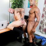 Sean Duran and Osiris Blade Extra Big Dicks Black Cock Interracial Amateur Gay Porn 13 150x150 White Muscle Hunk Takes A Big Black Cock Up The Ass During A Job Interview