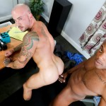 Sean Duran and Osiris Blade Extra Big Dicks Black Cock Interracial Amateur Gay Porn 14 150x150 White Muscle Hunk Takes A Big Black Cock Up The Ass During A Job Interview