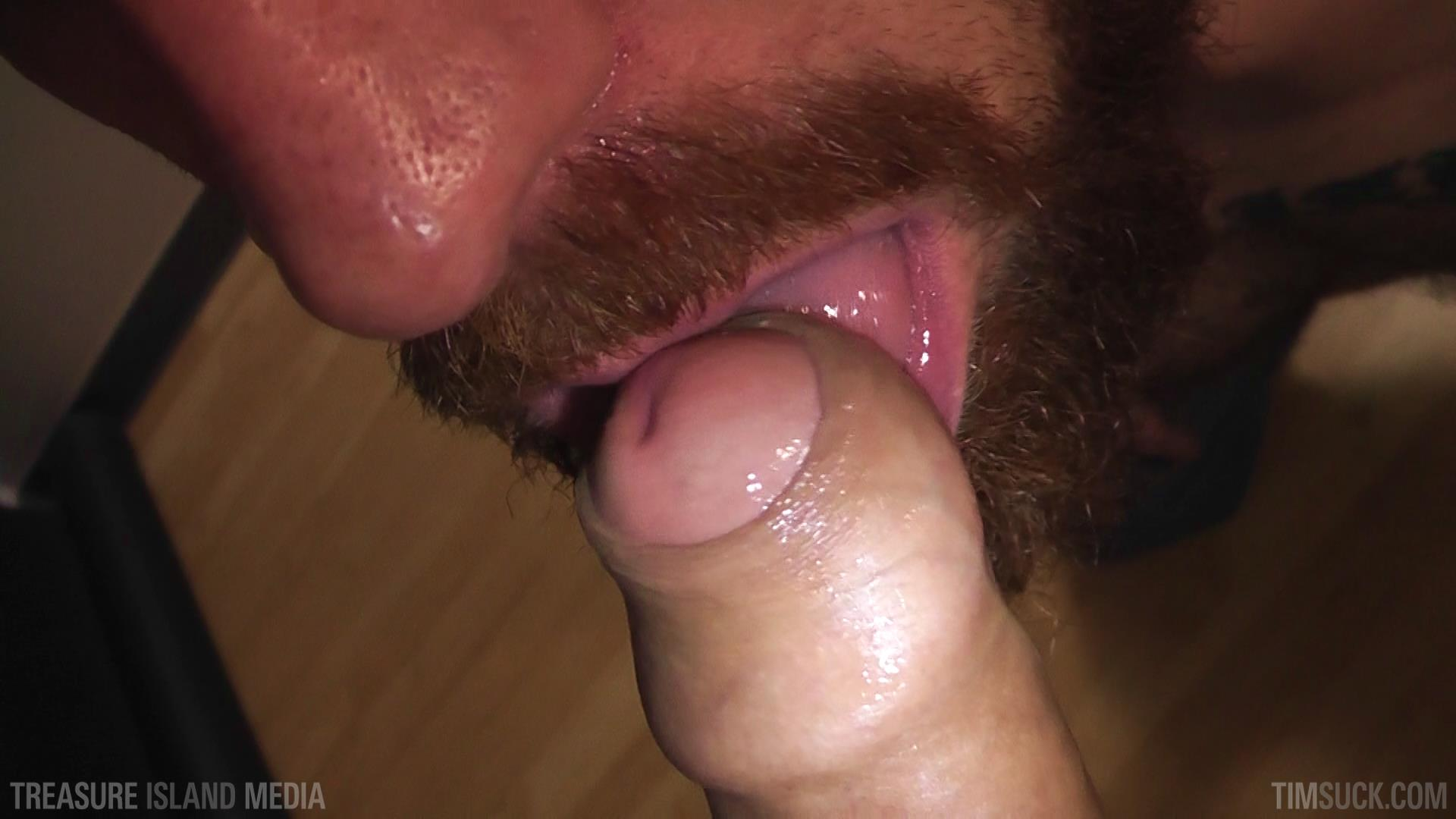 Treasure-Island-Media-TimSuck-Pete-Summers-and-Dean-Brody-Sucking-A-Big-Uncut-Cock-Amateur-Gay-Porn-37 Bearded Ginger Services A Big Uncut Cock And Eats The Cum