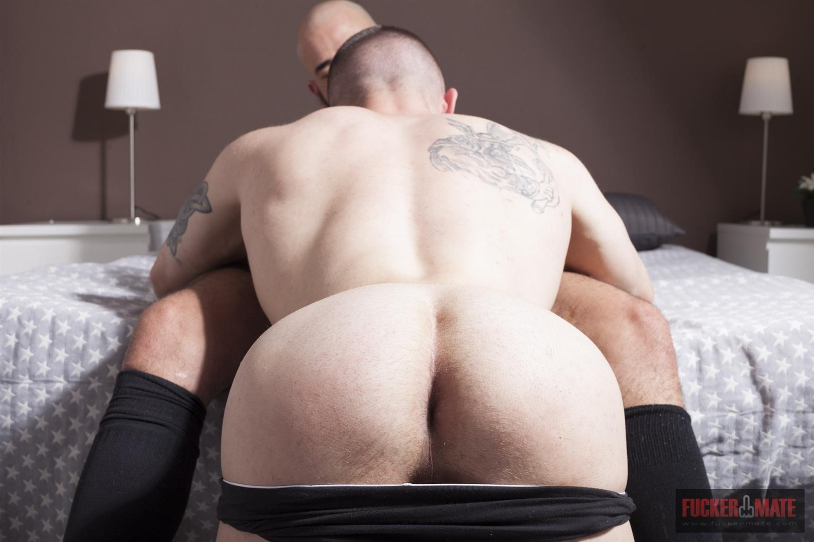 Fuckermate Carlo Fiero and Dalton Sirius Big Uncut Cock Bareback Amateur Gay Porn 4 Tatted Muscled Spaniard Gets Barebacked By A Huge Uncut Cock