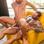Lucas Entertainment Josh Rider and Dylan Naked Tatted Bareback James Amateur Gay Porn 31 150x150 Dylan James Barebacking Josh Rider In The Gym Shower
