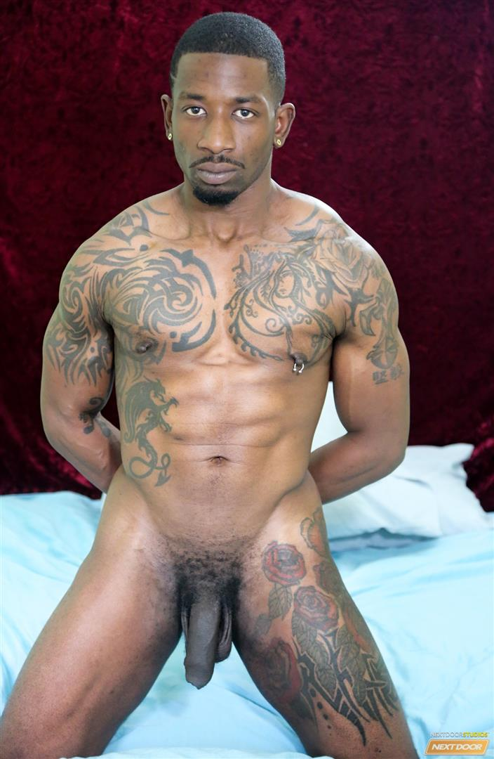 Next-Door-Ebony-Muscular-Black-Guys-Fucking-Free-Gay-Sex-Video-02 A Hard Morning Fuck With Two Hung Black Lovers