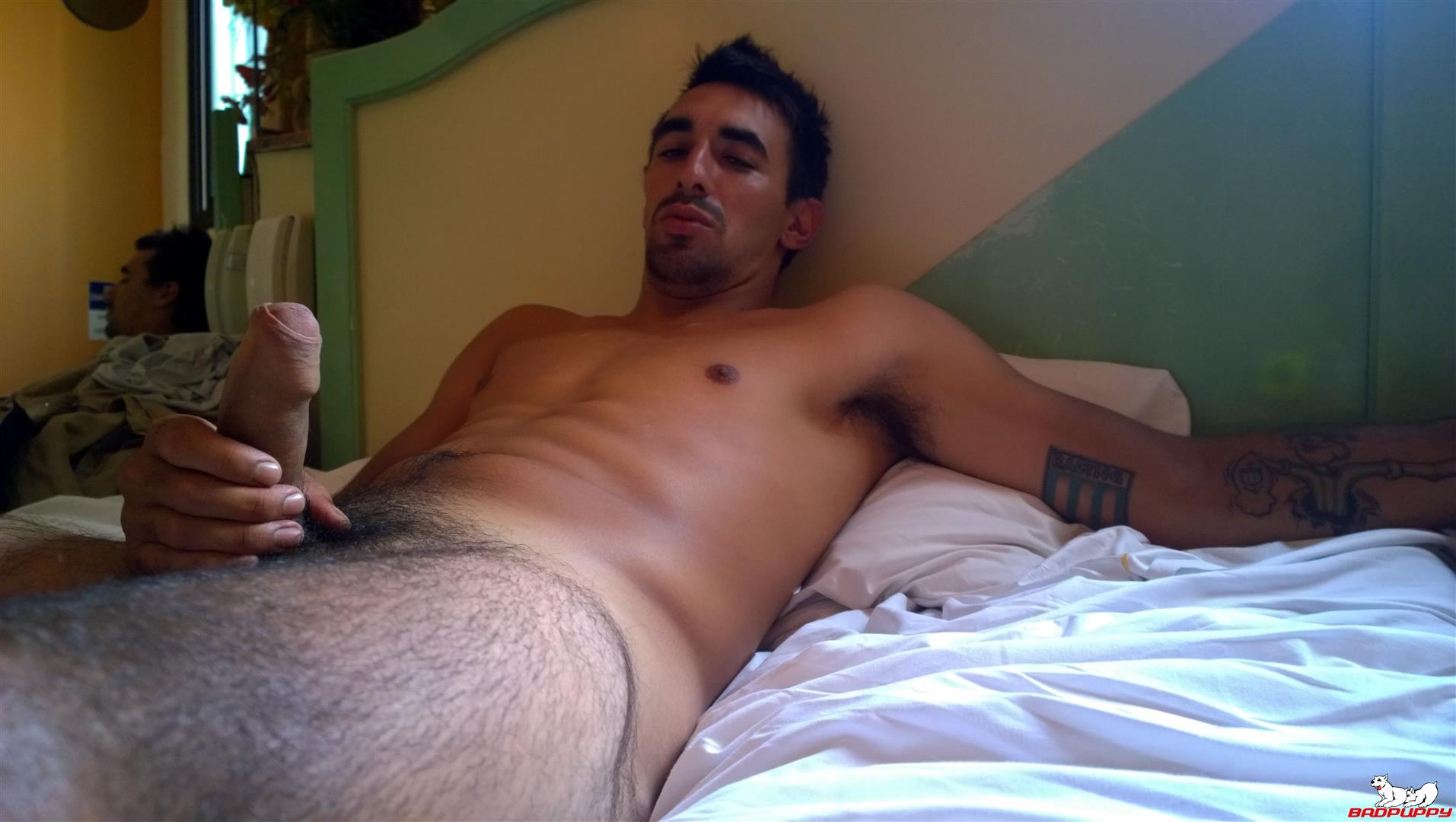 Badpuppy Fabian Flores Argentinian with a Big Uncut Cock 05 Argentinian Hunk With A Big Uncut Cock Auditions For Gay Porn