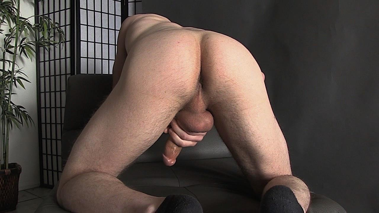 Straight-Off-Base-Naked-Marine-Jerks-His-Big-Cock-18 United States Marine Sergeant Strokes His 8.5 Inch Thick Dick