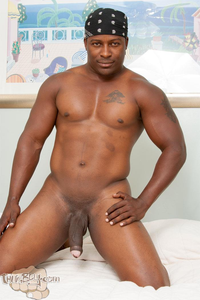 Thug-Boy-Danger-Naked-College-Football-Player-Jerking-off-His-Big-Black-Uncut-Cock-09 Former College Football Player Jerking His Big Black Uncut Horse Cock