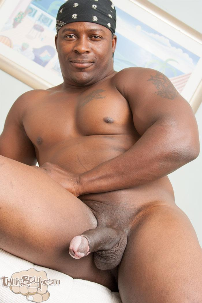 Thug-Boy-Danger-Naked-College-Football-Player-Jerking-off-His-Big-Black-Uncut-Cock-17 Former College Football Player Jerking His Big Black Uncut Horse Cock