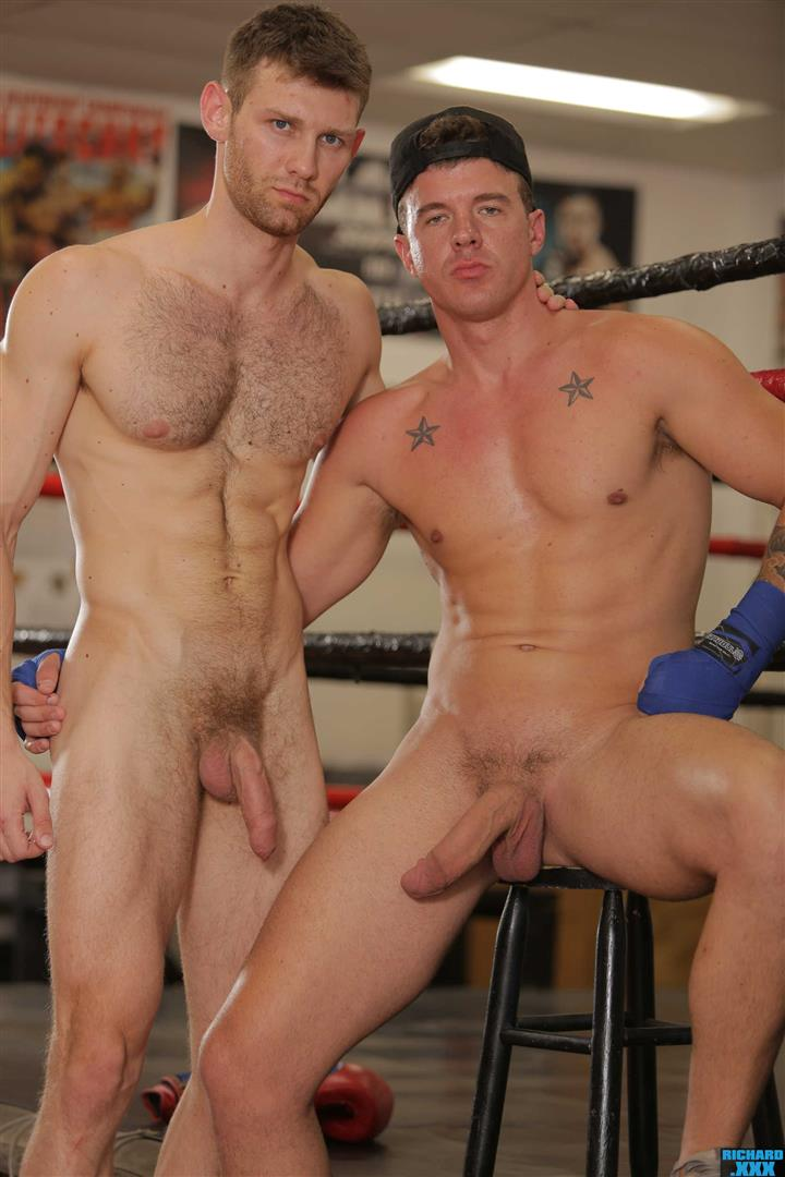 Richard-XXX-Jacob-Peterson-and-JJ-Knight-Big-Dick-Guys-Bareback-Sex-At-Gym-09 Boxing Buddies JJ Knight Barebacks Jacob Peterson At The Gym